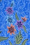 Pattern on thai cloth Stock Image