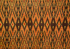 Pattern of thai  fabric Royalty Free Stock Photography