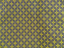 pattern thai fabrics Royalty Free Stock Photos
