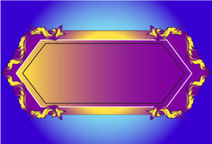 Pattern thai frames Royalty Free Stock Photography