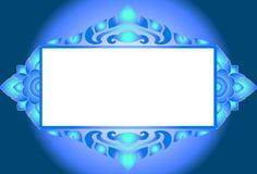 Pattern thai frames Stock Photography