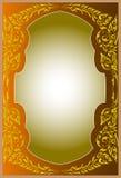 Pattern thai frames Royalty Free Stock Photos