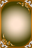 Pattern thai frames Royalty Free Stock Image