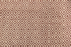 Pattern of thai hand made fabric Royalty Free Stock Photos
