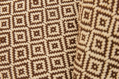 Pattern of thai hand made fabric Stock Photos
