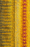 Pattern of thai hand made fabric background. Texturese Stock Photo