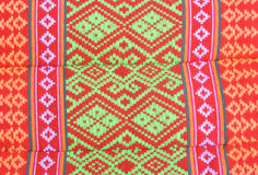 The pattern of Thai pillow Stock Images