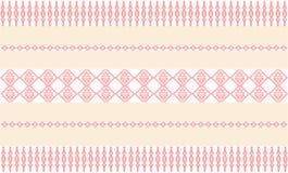 Pattern thai pink vector illustration