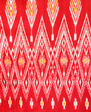 Pattern of Thai silk fabric Stock Photo