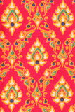 Pattern of Thai silk fabric Royalty Free Stock Photo