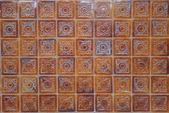 Pattern of Thai style. Tradition wall tile royalty free stock photos