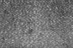 Pattern of Thai style wood tiles roof Stock Photo