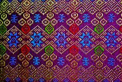 PATTERN OF THAI TEXTILE Royalty Free Stock Photos
