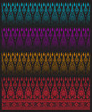 Pattern thai tradition vector Stock Photos