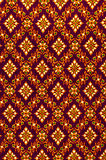 Pattern of Thailand native cloths Royalty Free Stock Photography