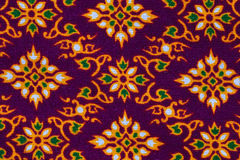 Pattern of Thailand native cloths Stock Photo