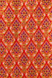 Pattern of Thailand native cloths Stock Photography