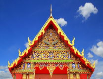 Pattern Thailand temple in Thailand. Pattern the Church in Thailand temple in Thailand Royalty Free Stock Photography