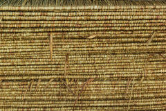 Pattern of thatch roof Royalty Free Stock Photography
