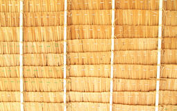 Pattern of thatched roof Stock Photography