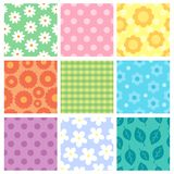 Pattern theme collection 1 Stock Photo