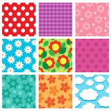 Pattern theme collection 2 Royalty Free Stock Images