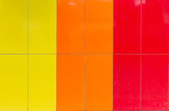 Pattern of three color Stock Photo