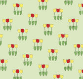 Background of tulips Stock Photography