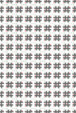 Pattern - Tic-Tac-Toe Stock Image
