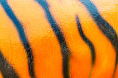 Pattern of a tiger skin texture and background Stock Image