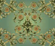 Pattern tile design Stock Photos