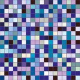 Pattern tile with squares in the colors. Tile pattern of squares in colors  pixel seamless Royalty Free Stock Photography