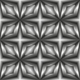Pattern tiles in monochrome of the stars. Stock Images