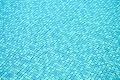 Pattern of tiles in swimming pool. stock photography