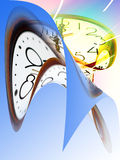 Pattern time Royalty Free Stock Image
