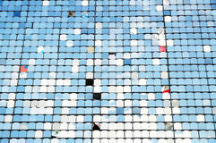 Pattern of tiny square plate Royalty Free Stock Images