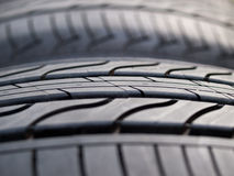 Pattern of tire Stock Images