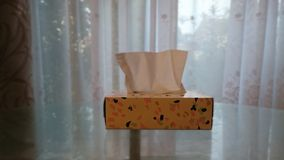 Pattern Tissue Box stock photography