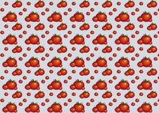 Pattern_tomato_gray Imagen de archivo