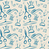 Pattern tools for sewing Royalty Free Stock Images