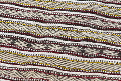 Pattern of a traditional handmade Moroccan Berber carpet. Stock Photography