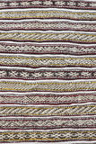 Pattern of a traditional Moroccan Berber carpet. Royalty Free Stock Photography
