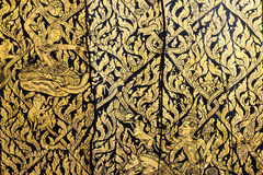 Pattern in traditional Thai style art painting Royalty Free Stock Images
