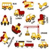Pattern transport. Vector illustration, eps Stock Images