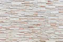 Pattern of travertine natural stone wall texture and background Stock Images