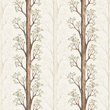 Pattern with a tree illustration Stock Images