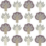 Pattern of trees. Stock Photography