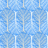 Pattern with trees Stock Photos