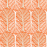 Pattern with trees Royalty Free Stock Images
