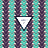 Pattern-triangle-blue-violet. Vector seamless colorful pattern. Formless abstract element. Abstract texture. Colorful geometric background. Vector seamless Royalty Free Stock Photo